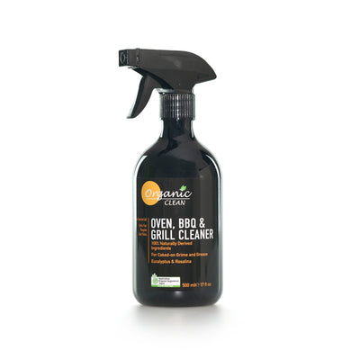 Organic Clean Oven, BBQ & Grill Cleaner Eucalyptus & Rosalina 500ml