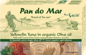 Pan do Mar Light Tuna in Organic Olive Oil 120g