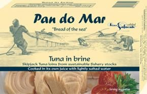 Pan do Mar Skipjack Tuna in Brine 120g