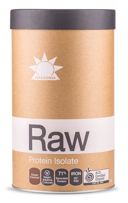 Amazonia Raw Protein Isolate Cacao & Coconut 1kg