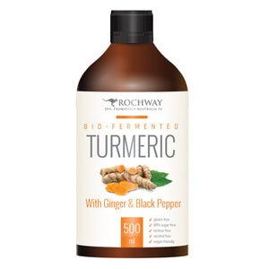 Rochway Bio Fermented Turmeric with Ginger Black Pepper 500ml