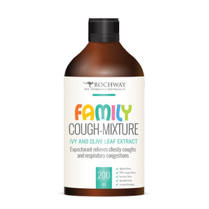 Rochway Family Cough Mixture (Ivy and Olive Leaf) 200ml