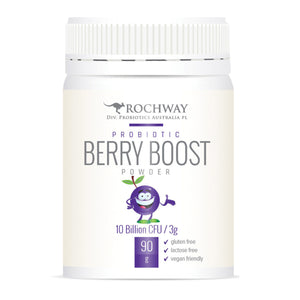 Rochway Probiotic Berry Boost Powder 10 Billion CFU/3g 90g