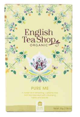 English Tea Shop Organic Wellness Tea Pure Me 20pc
