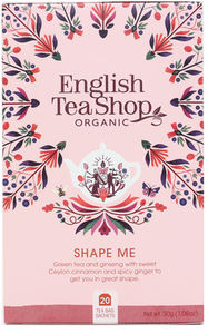 English Tea Shop Organic Wellness Tea Shape Me 20pc