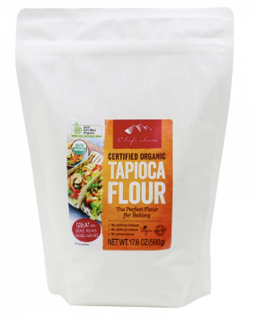 Chef's Choice Certified Organic Tapioca Flour 500g