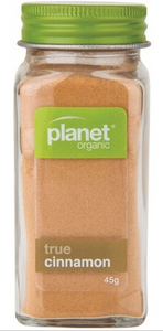 Planet Organic True Cinnamon 45g