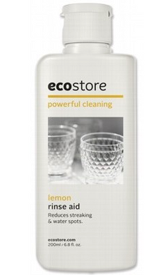 Ecostore Dishwasher Rinse Aid Lemon 200ml