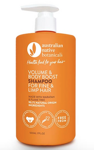 Australian Native Botanicals Volumising Fine & Limp Hair Shampoo 500ml