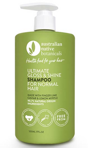 Australian Native Botanicals Ultimate Gloss & Shine Normal Hair Shampoo 500ml