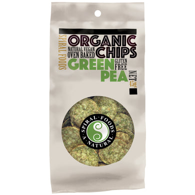 Spiral Foods Chips Green Pea 45g