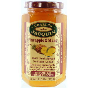 Charles Jacquin Fruit Spread Pineapple & Mango 325g