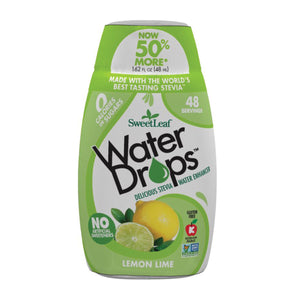 Sweet Leaf Stevia Water Drops Lemon Lime 48ml