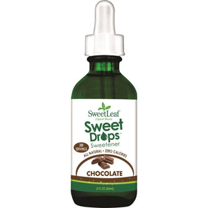 Sweet Leaf Liquid Stevia Drops Chocolate 60ml