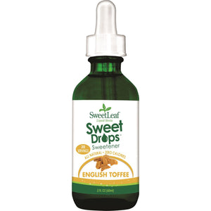 Sweet Leaf Liquid Stevia Drops English Toffee 60ml