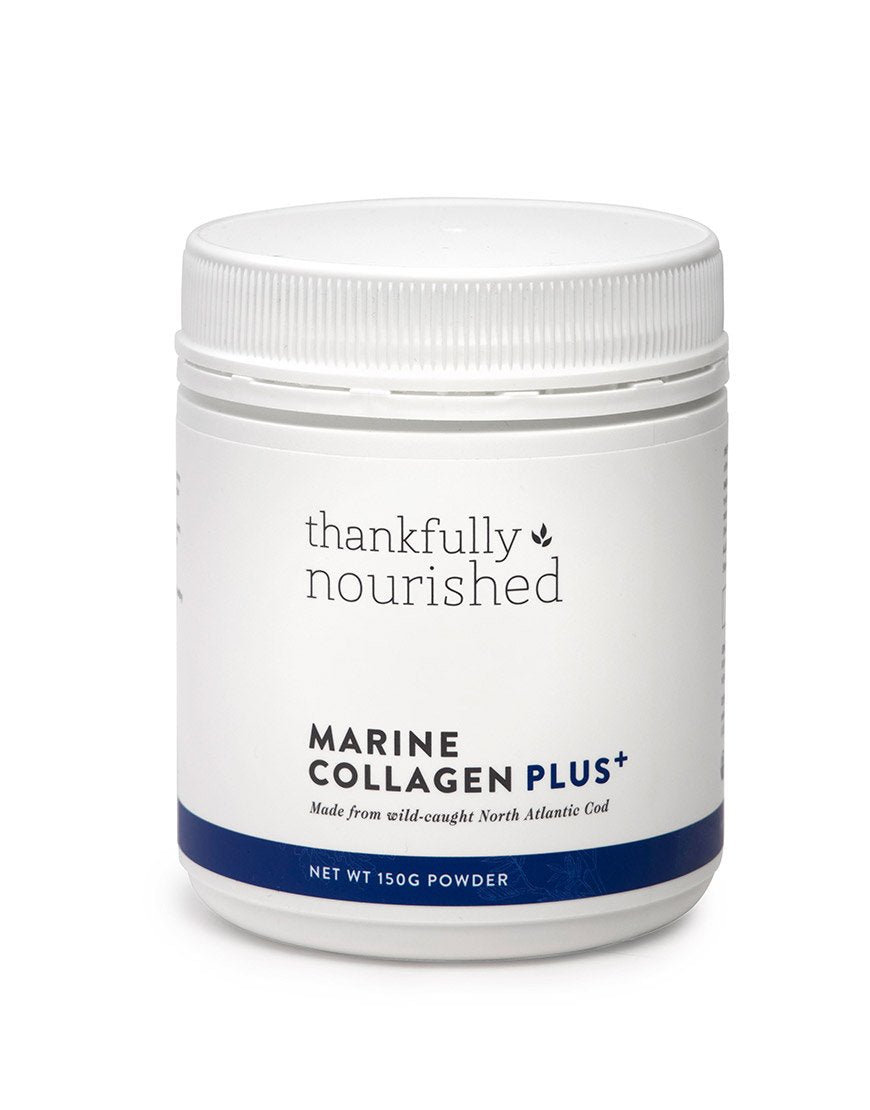 Thankfully Nourished Marine Collagen Plus Strawberry 50s 150g