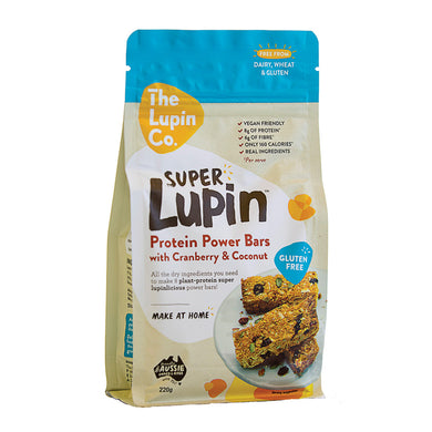 The Lupin Co. Super Lupin Protein Power Bars Mix 220g