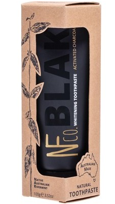 The Natural Family Co. BLAK Activated Charcoal Toothpaste Whitening 110g
