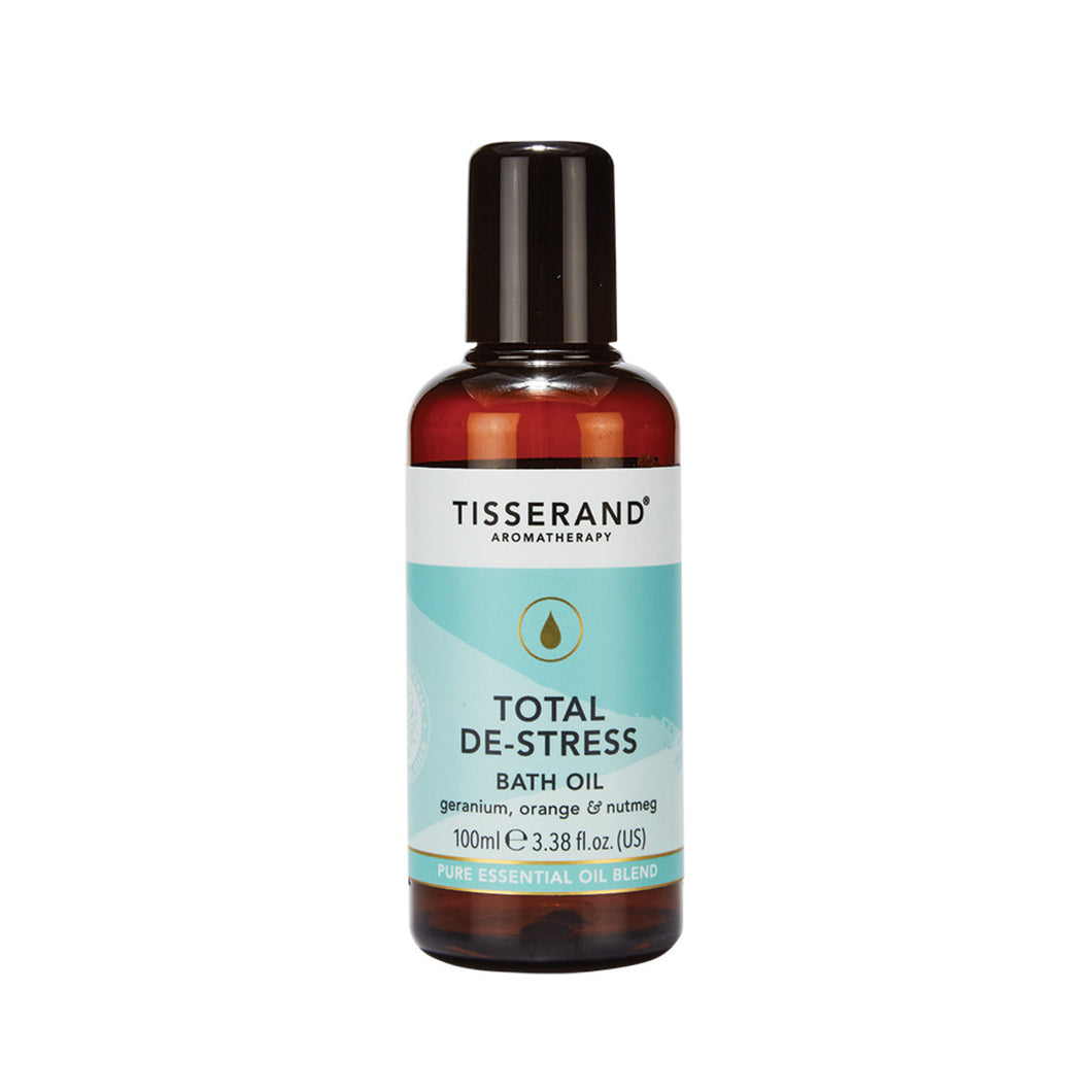 Tisserand Bath Oil Total De Stress 100ml