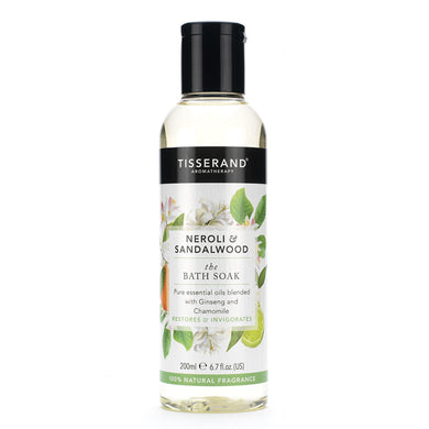 Tisserand Bath Soak Neroli & Sandalwood 200ml