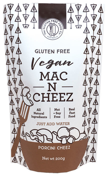 THE GLUTEN FREE FOOD CO. Mac n Cheez Porcini Cheez 200g