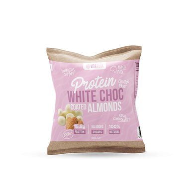 Vitawerx Keto White Chocolate Coated Almonds 60g