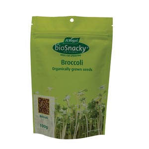 A. Vogel Biosnacky Organic Broccoli Seeds 100g