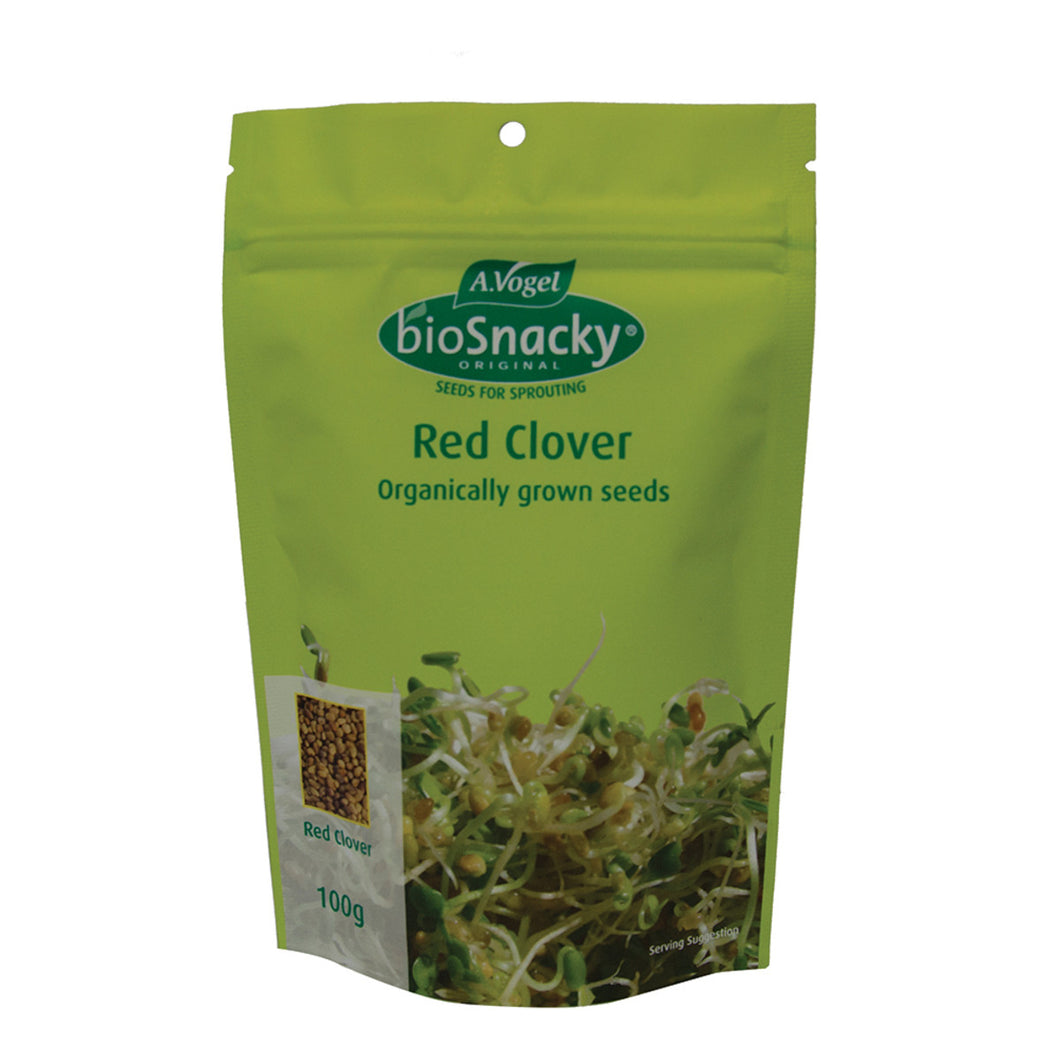 A. Vogel Biosnacky Organic Red Clover Seeds 100g