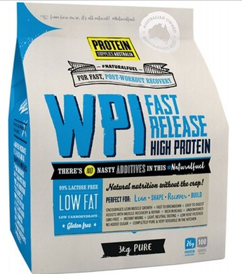 Protein Supplies Australia Whey Protein Isolate 3kg