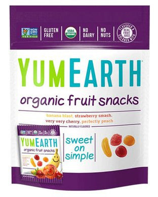 Yummy Earth Organic Vegan Fruit Snack Packs (5x20g) 99g
