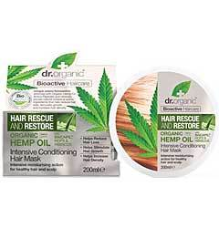 Dr Organic Hemp Hair Mask 200ml