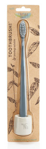 The Natural Family Co. Bio Toothbrush & Stand Soft - Monsoon Mist