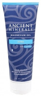Ancient Minerals Magnesium Gel (50%) & MSM 237ml