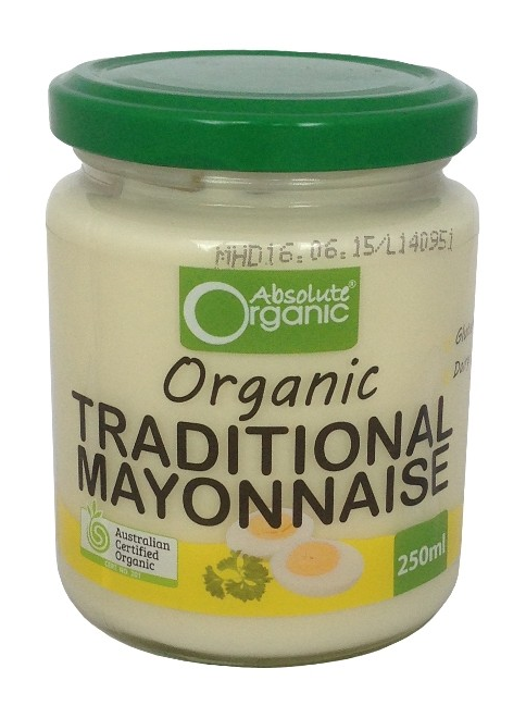 Absolute Organic Mayonnaise 250g