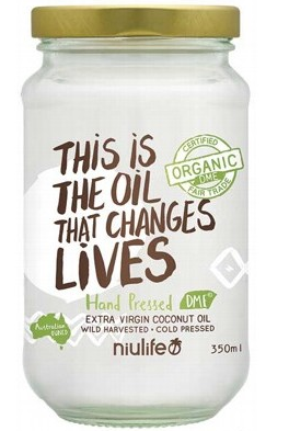 Niulife Extra Virgin Coconut Oil  350g