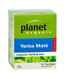 Planet Organic Yerba Mate 25 Tea Bags/28g