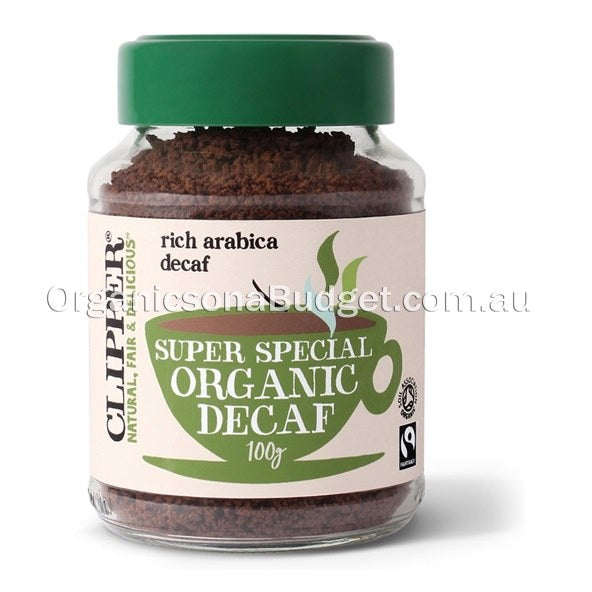 Clipper Organic Super Special Instant Decaf Coffee 100g