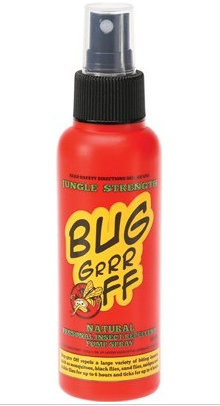 BUG-GRRR OFF Natural Insect Repellent - Jungle Strength 100ml