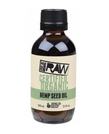 Every Bit Organic Raw Hemp Seed Oil 100ml