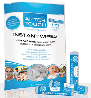 After Touch Instant Wipes Bag of 50