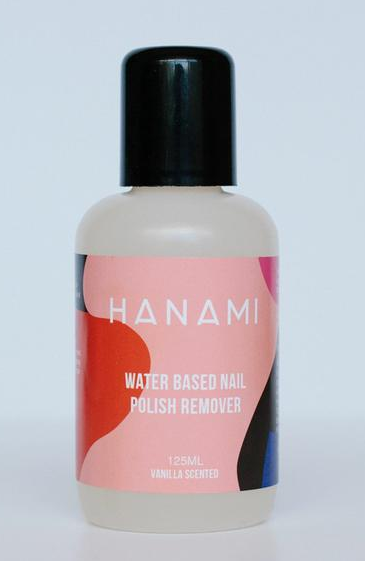 Hanami Water Based Nail Polish Remover 125ml