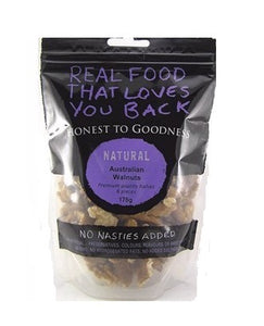 Honest To Goodness Australian Natural Walnut Kernels Raw 175g