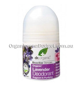 Dr Organic Lavender Roll-on Deodorant 50ml