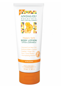 ANDALOU NATURALS Mandarin Vanilla Vitalizing Body Lotion 236ml