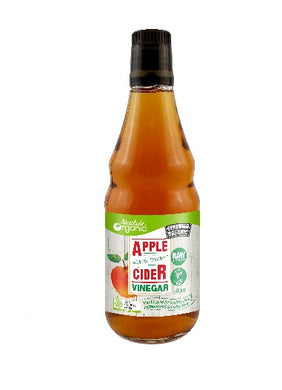 Absolute Organic Raw Unpasterised Apple Cider Vinegar 500ml