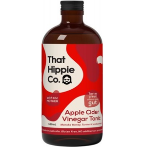 That Hippie Co. Apple Cider Vinegar Tonic Contains The Mother - 500ml