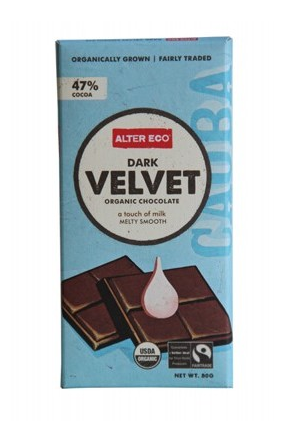 Alter Eco Dark Velvet Chocolate 80g