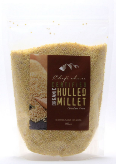 Chef's Choice Organic Hulled Millet 500g