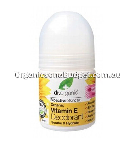 Dr Organic Vitamin E Roll-on Deodorant 50ml