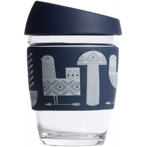 Joco Reusable Glass Cup  Artist Series 12oz -354ml - Assorted Designs Available